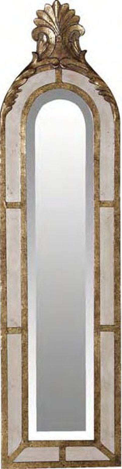 6 interior accessories mirrors arched window mirror for Gold window mirror